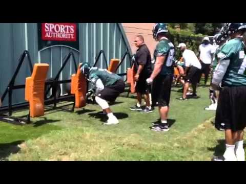 Jason Peters at practice