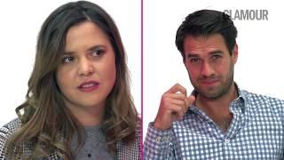 Pareja de ex novios se dicen todo lo que nunca se dijeron    Glamour México y Latinoamérica