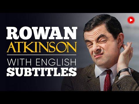 ENGLISH SPEECH | ROWAN ATKINSON (Mr. Bean): Free Speech (English Subtitles)