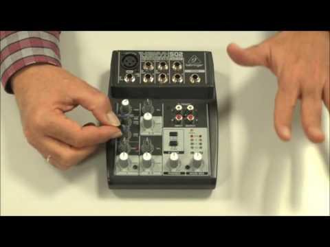 Mesa de mezclas. 1ª parte  │MOOC Creación de una radio para internet (11-43) │UPV