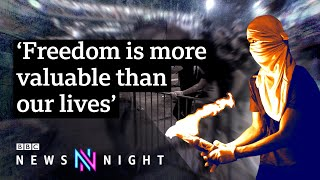 Hong Kong: Violent standoff between police and students - BBC Newsnight