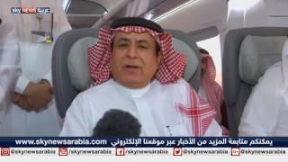 المرحلة التجريبية لأول قطار سريع في السعودية