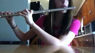 Gremlins theme song on flute