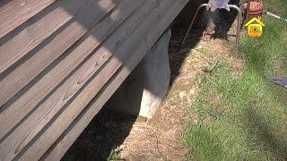 видео Фундамент на пучинистых грунтах с высоким уровнем грунтовых вод