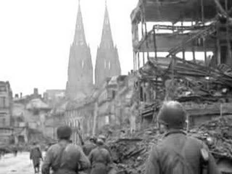 U S  3rd Armored Division in Cologne, World War II