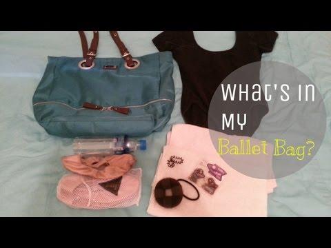 WHAT'S IN MY #BALLET BAG? #STARTER #SUMMER | effortlessruth