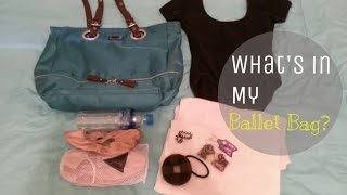 WHAT'S IN MY #BALLET BAG? #STARTER #SUMMER | effortlessruth Thumbnail