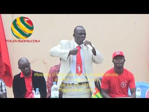 """Togo/ OURO-DJIKPA : """"A partir des nouvelles marches, tous les réacteurs doivent être mis en marche"""""""