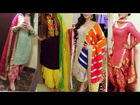 50+ latest fashion patiala salwar suit design//newly suit design 2020....