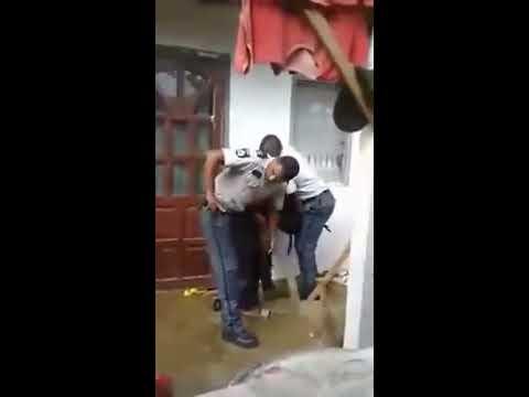 Politie Suriname Vuurt Waarschuwingsschoten Af