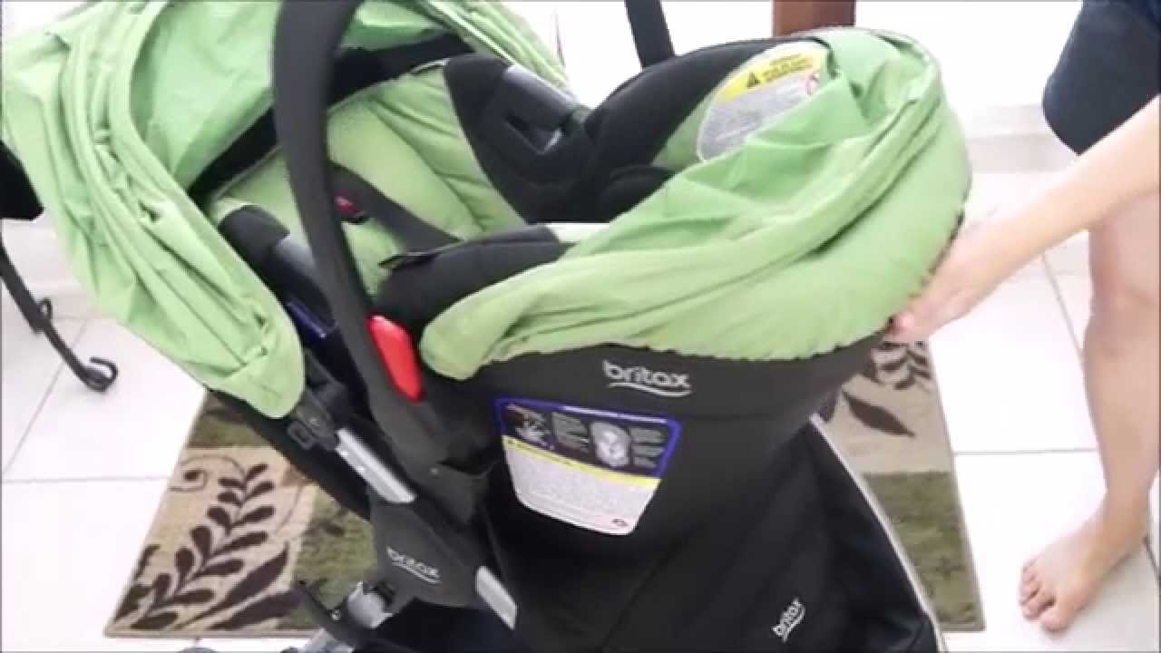 43d2b74c0 Britax B-Safe 35 / B-Agile 3 Travel System Quick Review - YouTube