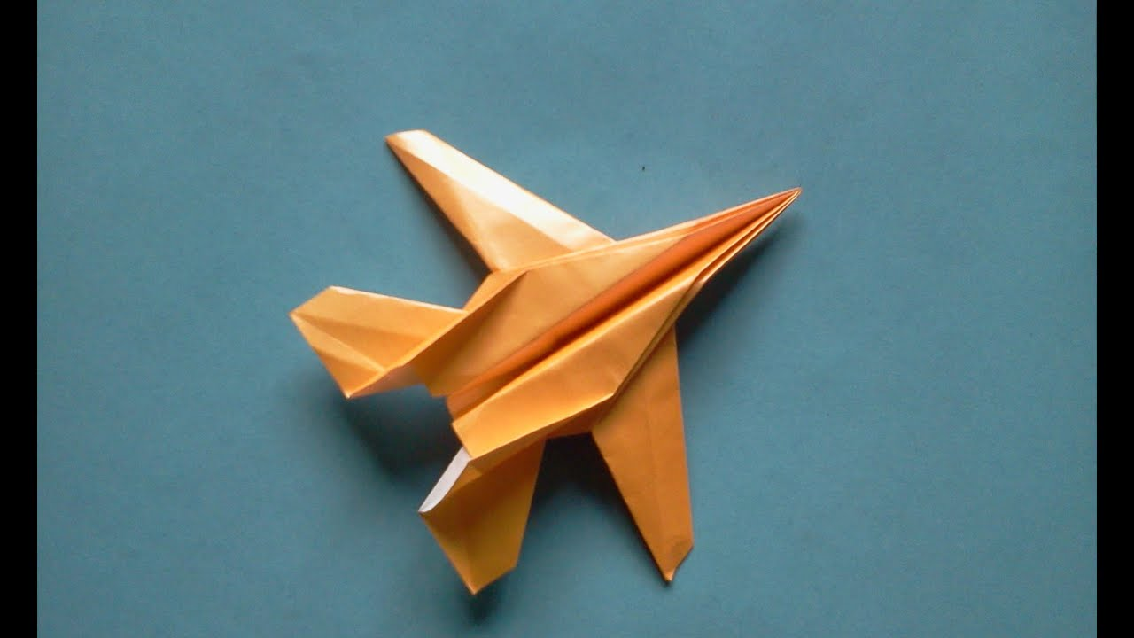 how to make origami paper plane michael g lafosse youtube