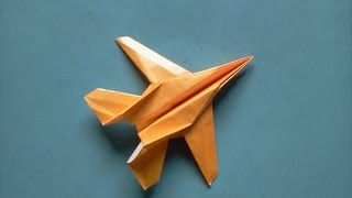 How to make Origami paper plane (michael g. lafosse)