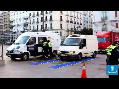 Control Pesajes en Madrid