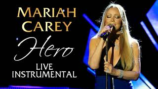 RARE - Mariah Carey - Hero LIVE INSTRUMENTAL