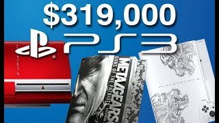 The Rarest, Coolest, and Most Expensive PS3's EVER.