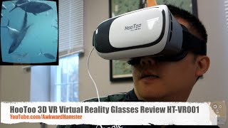 HooToo 3D VR Virtual Reality Glasses Review HT-VR001 Google Cardboard