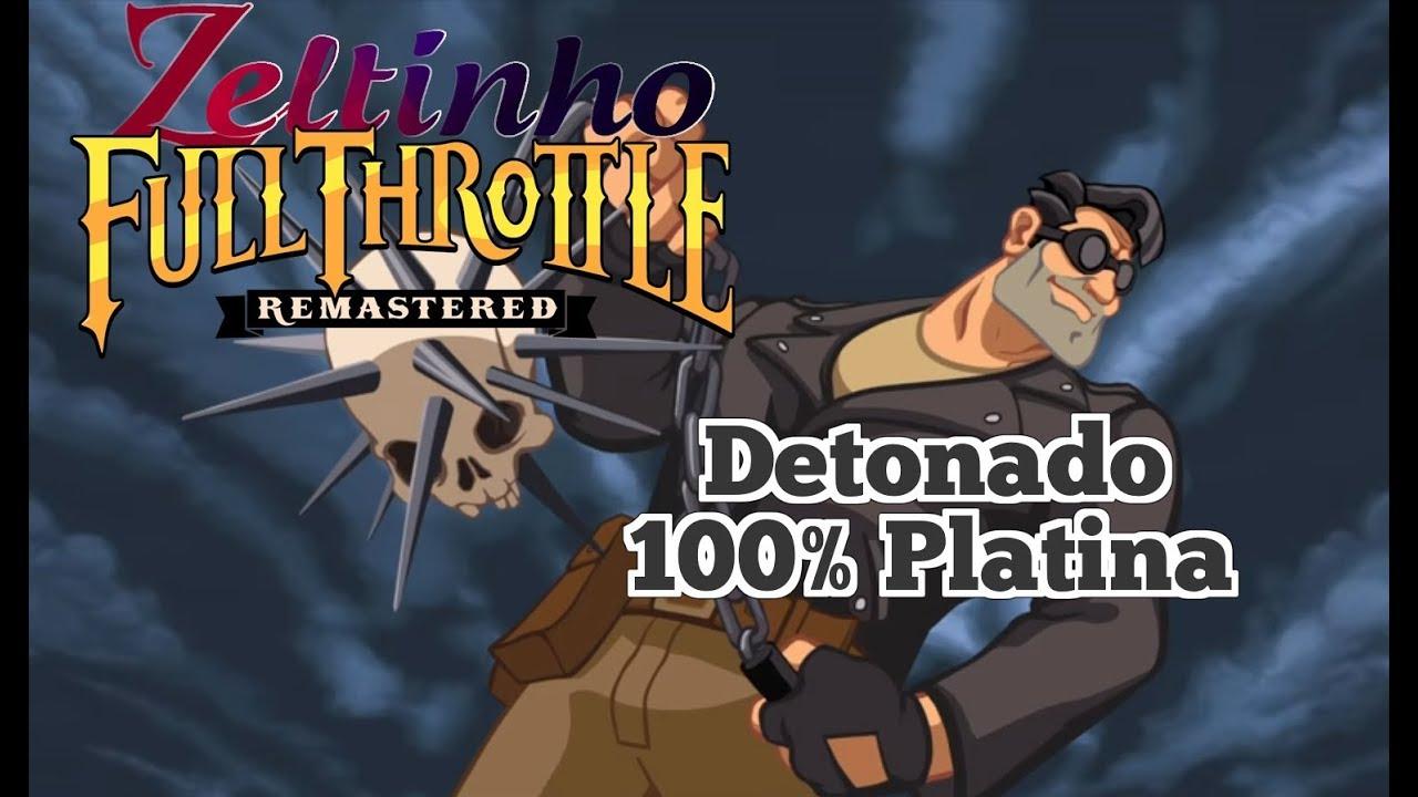 Full Throttle Remastered - Detonado 100% Platina - YouTube 7f0e951cc1036