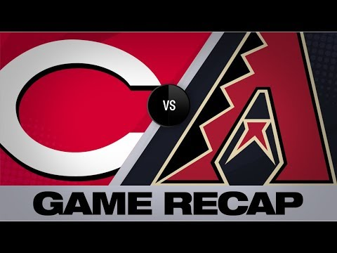 Votto, VanMeter's Homers Power Reds To Win   Reds-D-backs Game Highlights 9/13/19