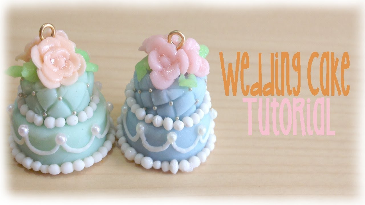Tutorial fimo wedding cake