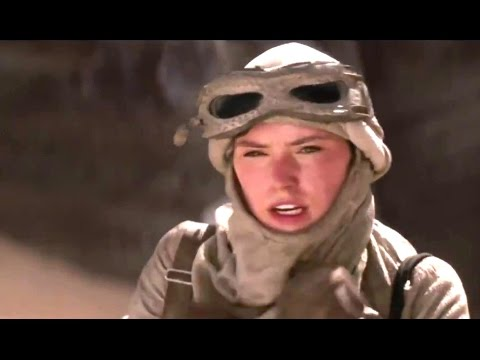 STAR WARS: THE FORCE AWAKENS Behind the Scenes Featurette - Rey (2015)