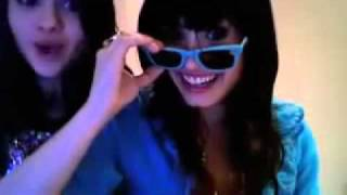 Demi Lovato and Selena Gomez Dancing To Random Songs