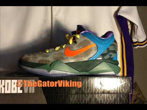 baee04240def What The Kobe Review -- WTK -- Nike Zoom Kobe VII System - YouTube