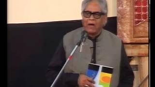Iftikhar Arif presenting his kalam on 3rd Muharam at Masjid Imam Sadiq, G-9/2