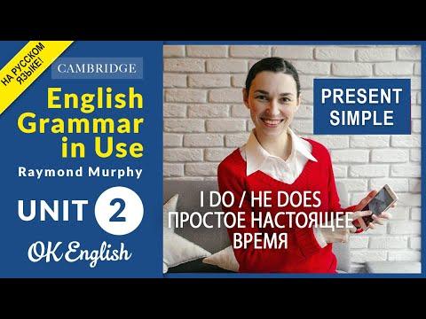 Unit 2 Present Simple (I do / he does) - Настоящее простое время в английском