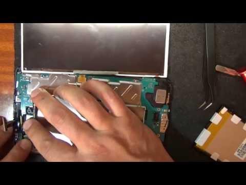 Samsung Galaxy Tab 3  SM T211 / замена дисплея