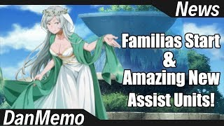 Familia System and new Amazing Assist Characters! - DanMemo News