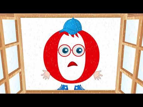 Слогопесенка со звуком О. Развивающий мультфильм, видео для детей. Папа v теме