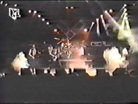 Living Death Killing Machine Grippin A Heart Live TV 1988
