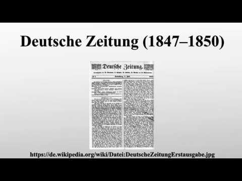 Deutsche Zeitung (1847–1850)