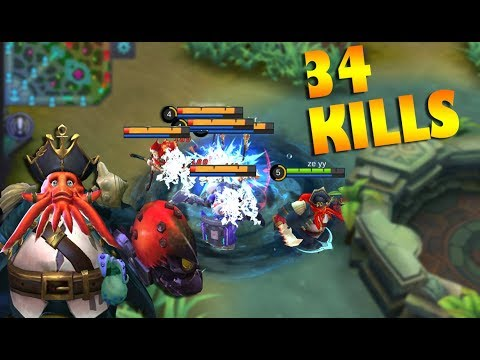 NEW BANE IS SO BROKEN! 34 KILLS MOBILE LEGENDS