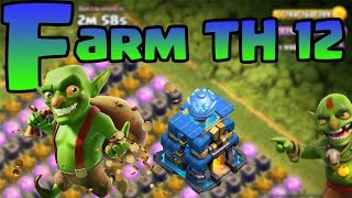 Combo Farm Town Hall 12 || Chức Năng Copy Base Clash Of Clans TH12