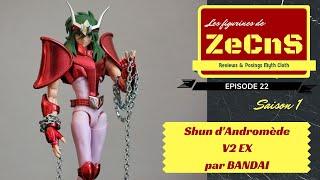 saint seiya myth cloth les figurines de zecns shun d andromde v2 ex review