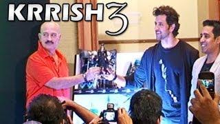 Krrish 3 - Hrithik Roshan & Rakesh Roshan launch movie merchandise
