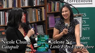 """Celeste Ng, """"little Fires Everywhere""""  W/ Nicole Chung"""