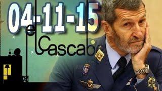 El Cascabel 13tv 04/11/15 | El Ex Jefe del  Estado Mayor con Carme Chacón  Ficha por Podemos