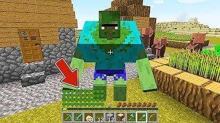 Minecraft  Jugando Como Un Zombi Mutante  Videos De Minecraft