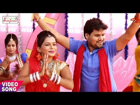 Chhotu Chhaliya का हिट  Songs.माई कहवा झूलियन झुलनवा.New Bhojpuri Durga Pooja Geet