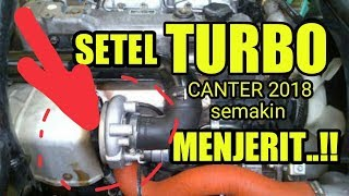 SETEL SUARA TURBO CANTER / HOW TO MAKE A GREAT SOUND TURBO MITSUBISHI CANTER