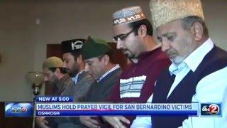 abc2: Oshkosh Ahmadiyya Muslims hold vigil for San Bernardino shooting victims