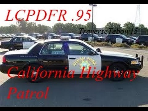 Gta 4 PC LCPDFR .95 all states #5 California State Trooper