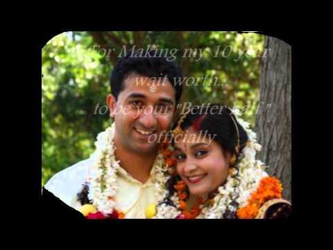 Remya and Deepu; 14th Anniversary Memorablia