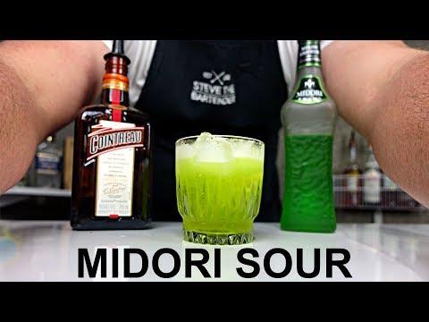 Midori Sour Cocktail Recipe + NEW VIDEO SETUP!!