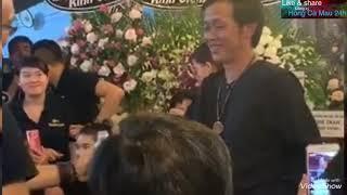 Nghệ sĩ HOÀI LINH hát Đêm Cuối chia buồn đám tang nghệ nhân ẩm thực THÀNH GIAO Cần thơ.