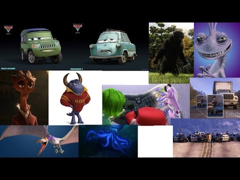 Death/Defeat Of Pixar Villains Part 3