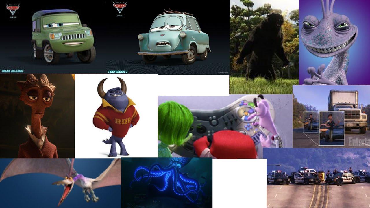 Death/Defeat of Pixar Villains Part 3 - YouTube